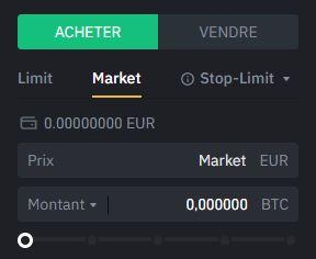Market Binance
